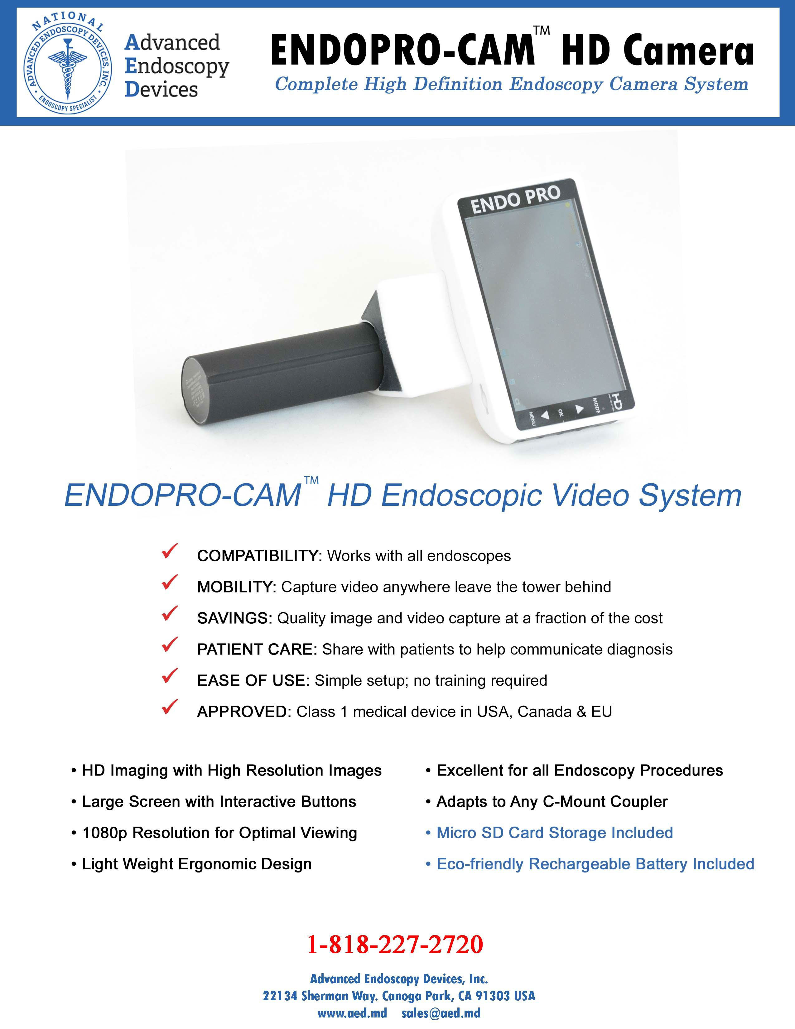 AED ENDOPRO-CAM® Product Page