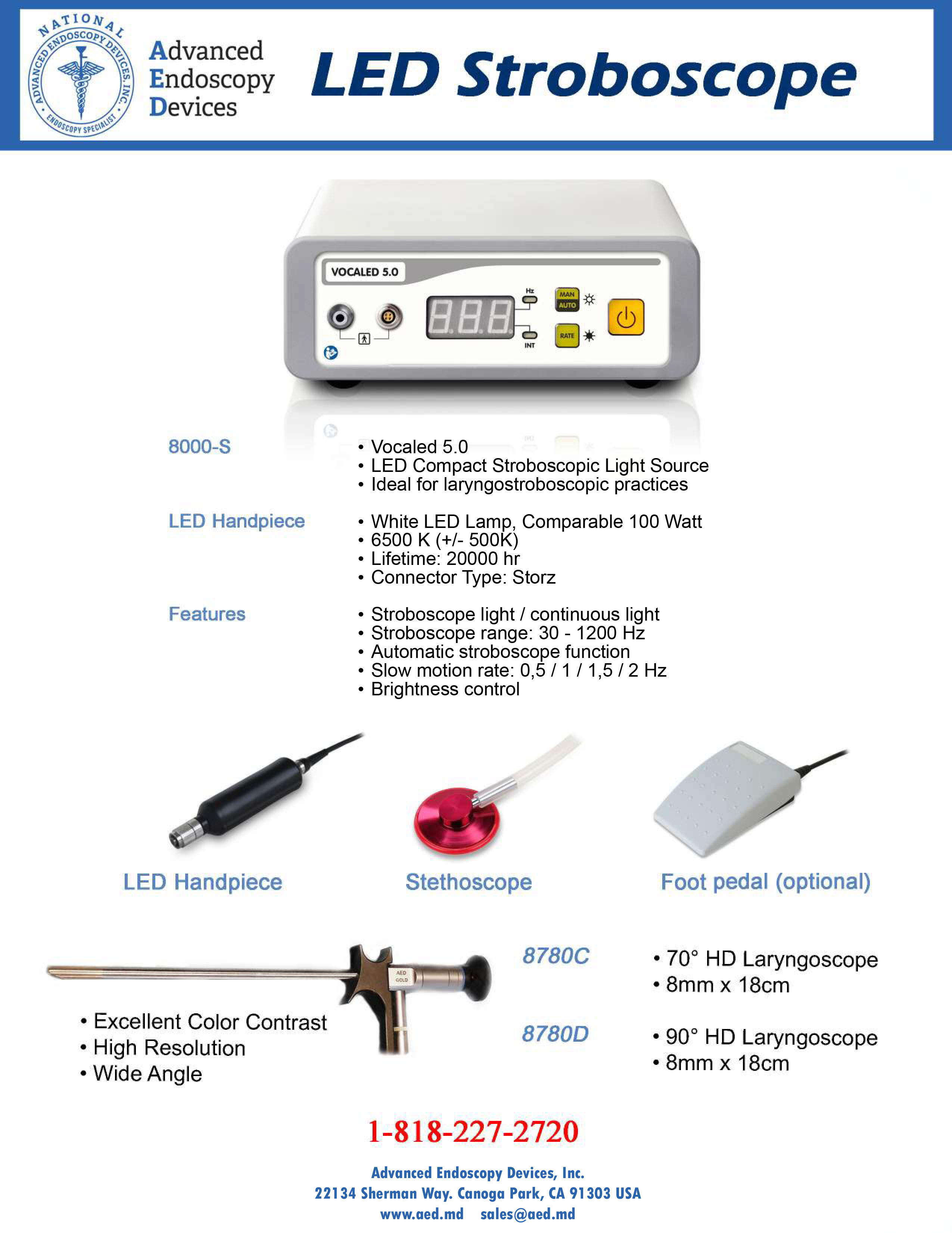 LED Stroboscope Product Page