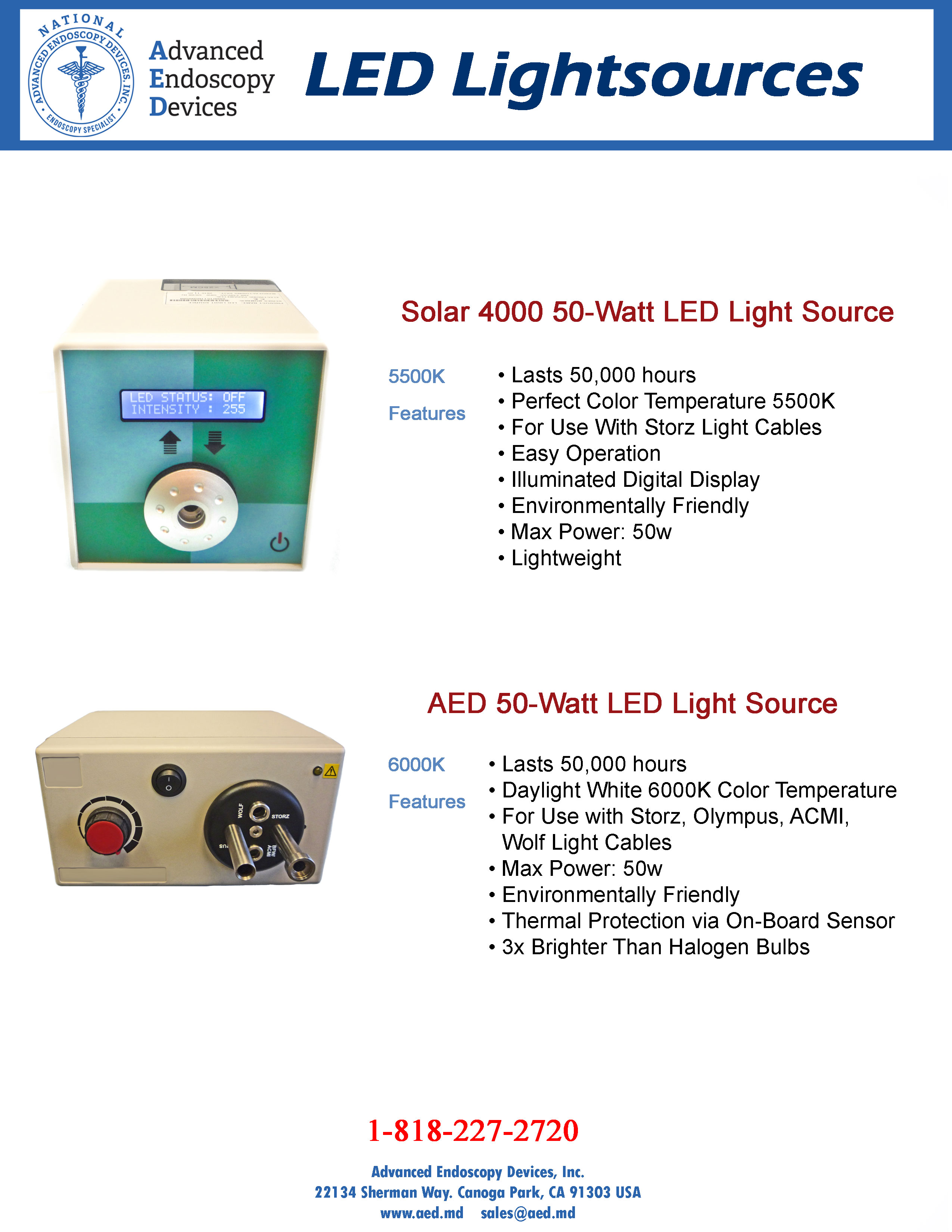 LED Lightsources Product Page