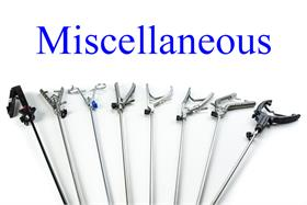 Miscellaneous Needle Holders & Suture Passers