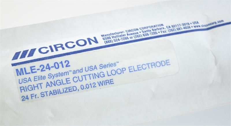 Circon ACMI MLE-24-012 USA Elite System Right Angle Cutting Loop Electrode, 24FR