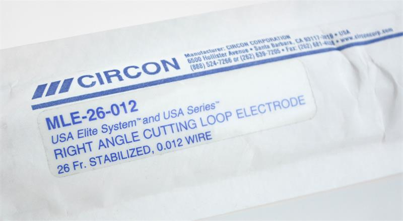 Circon ACMI MLE-26-012 USA Elite System Right Angle Cutting Loop Electrode, 26FR